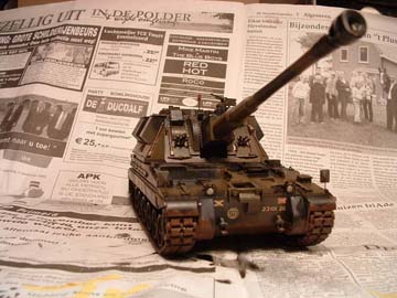 AS-90 tank