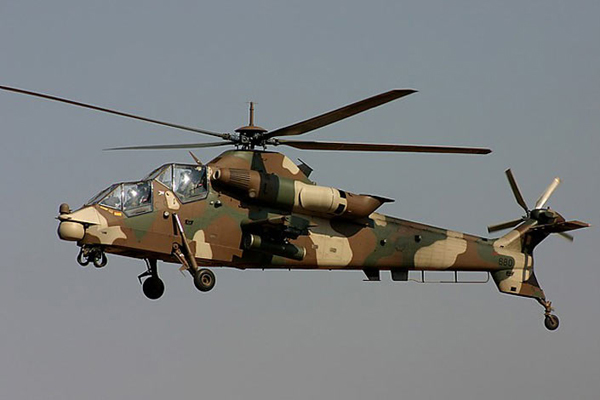 Denel CSH-2/AH-2A Rooivalk