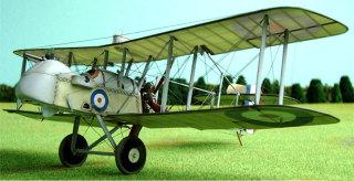Modelbouw van de Airco DH.2