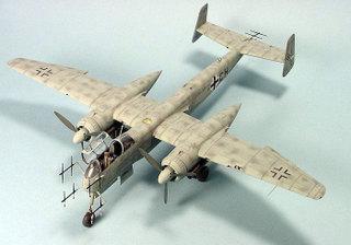 """Heinkel He 219 """"Uhu"""" in modelbouw"""