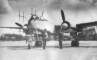 "Heinkel He 219 ""Uhu"" gestationeerd in Sint-Truiden"