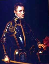Willem van Oranje op 22 jarige leeftijd