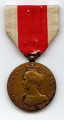 Bonen medaille - Brons - Voorkant