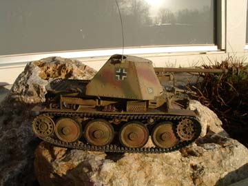 Marder 3 tank modelbouw