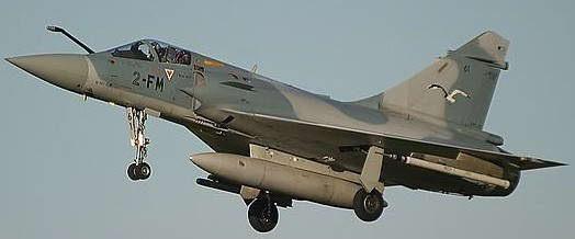 Mirage 2000 gevechtsvliegtuig